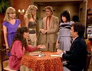 Three's Company Episode: Alias Jack Tripper (Rita Wilson dates Jack/Larry)