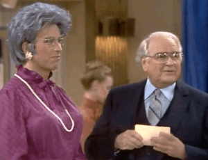 Three's Company episodes: Jack Tripper as Grandma Jack