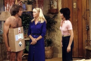 Three's Company Episode: Snow Job (Jack in a box)