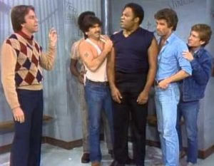 Three's Company Episode: Macho Man (Jack in a prison/jail cell)