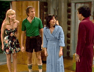 Three's Company Episode: She Loves Me, She Loves Me Not (in cabin)