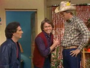 "Three's Company Episode: Maid to Order (Larry, Jack and ""Mr. Bunyon"" Joey)"