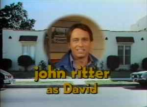 Three's Company Pilot: John Ritter as David