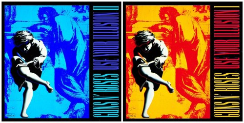 guns n roses use your illusion 1 2 albums