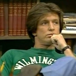 Gary Sandy as Andy Travis (WKRP in Cincinnati)