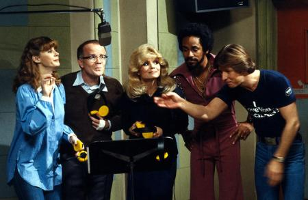 WKRP In Cincinnati recording jingle (Bailey, Les, Jennifer, Venus, Andy)