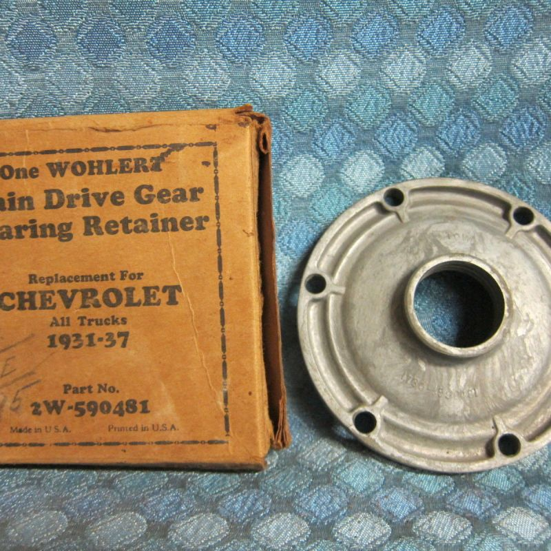 1931 - 1937 Chevrolet Truck NORS Main Drive Gear Bearing Retainer 32 33 34 35 36