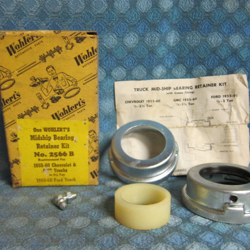 1955-60 Chevy GMC Truck 1/2 - 2 1/2 Ton NORS Midship Bearing Retainer Kit 57 59