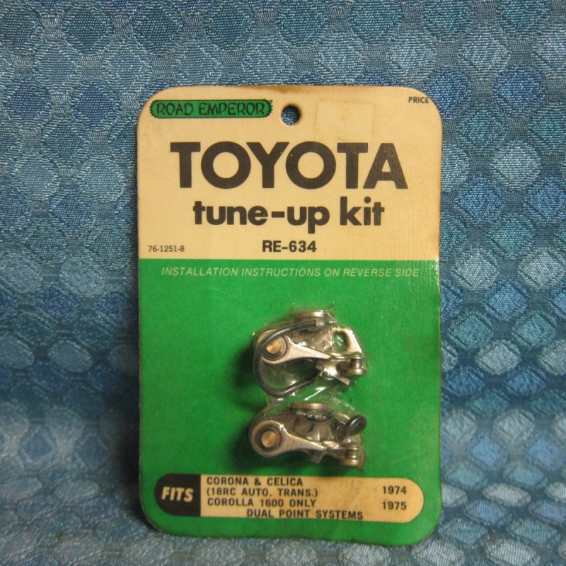 1974 Toyota Corona Celica 1975 Corolla 1600 NORS Dual Point Ignition Tune Up Kit