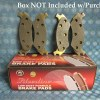 1978-82 Dodge Omni Plymouth Horizon Rampage New Front Brake Pads 70 80 82 # D142