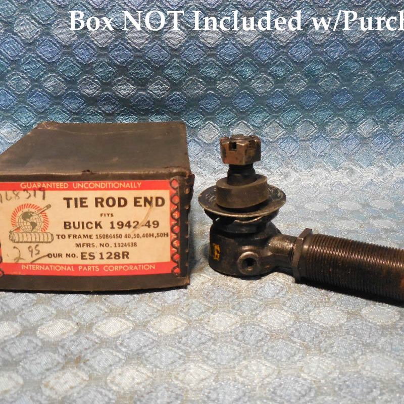 1942-1948 Buick Series 40 & 50 NORS RH Tie Rod End 1946 1947