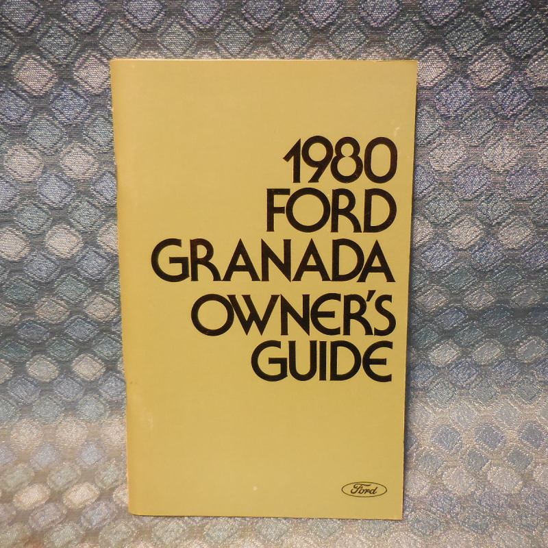 1980 Ford Granada NOS Owners Manual