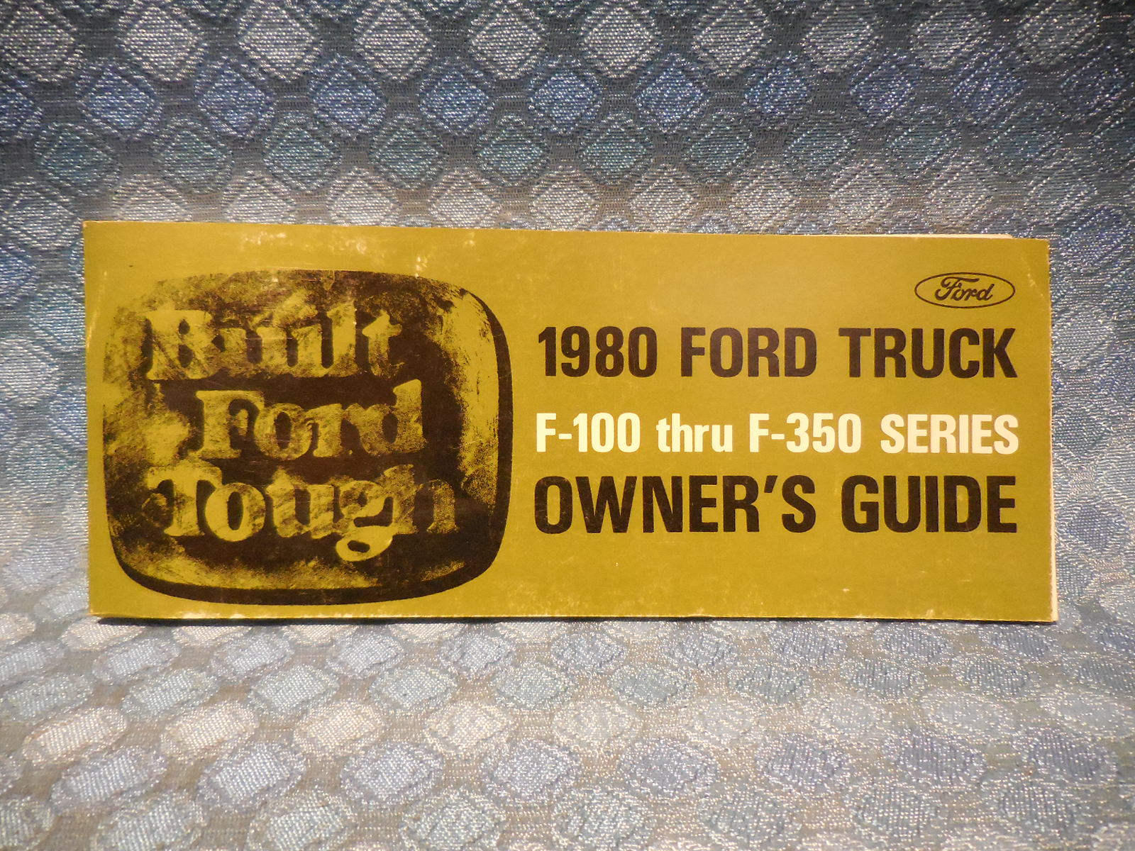 1980 ford truck f 100 thru f 350 nos owners manual guide