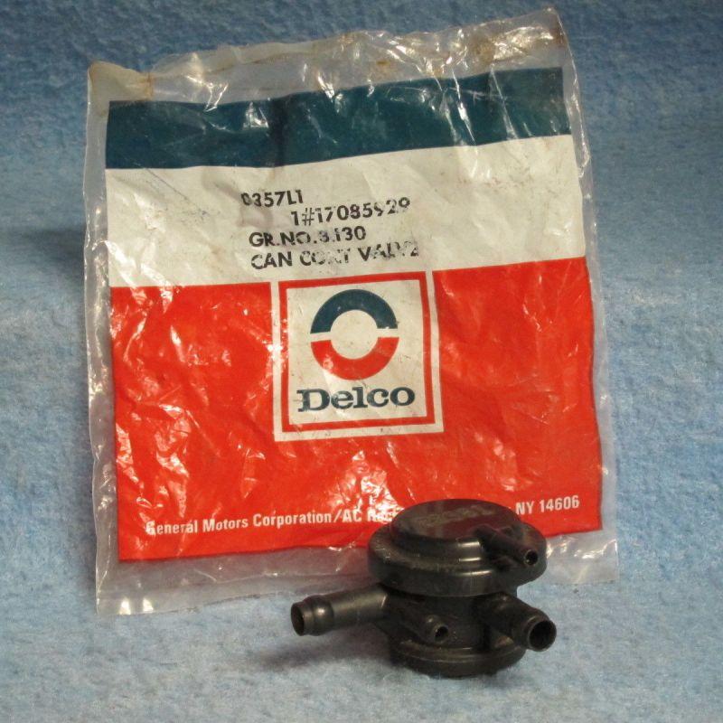 1982 83 84 85 86 87 88 Buick Chevy Olds Pontiac NOS Evaporator Canister Valve