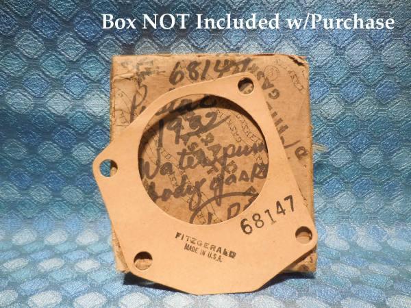 1932 Pontiac 6 Cyl NORS Water Pump Body Gasket