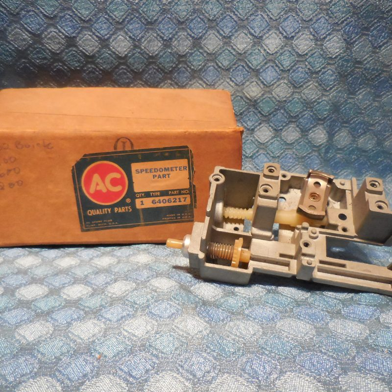 1962 Buick NOS AC Speedometer Frame - Worms & Magnet Assembly # 6406217