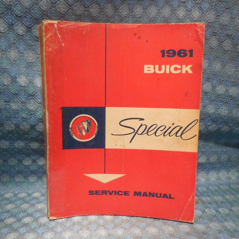 1961 Buick Special Original Shop Service Manual
