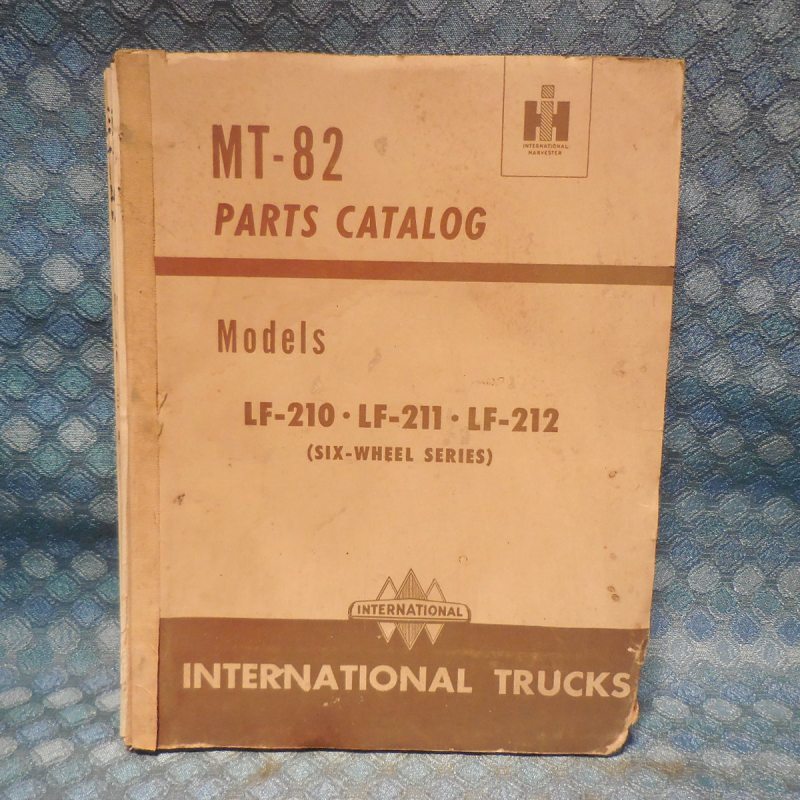 1949-1952 International Truck LF-210 LF-211 LF-212 Original Parts Catalog 50 51