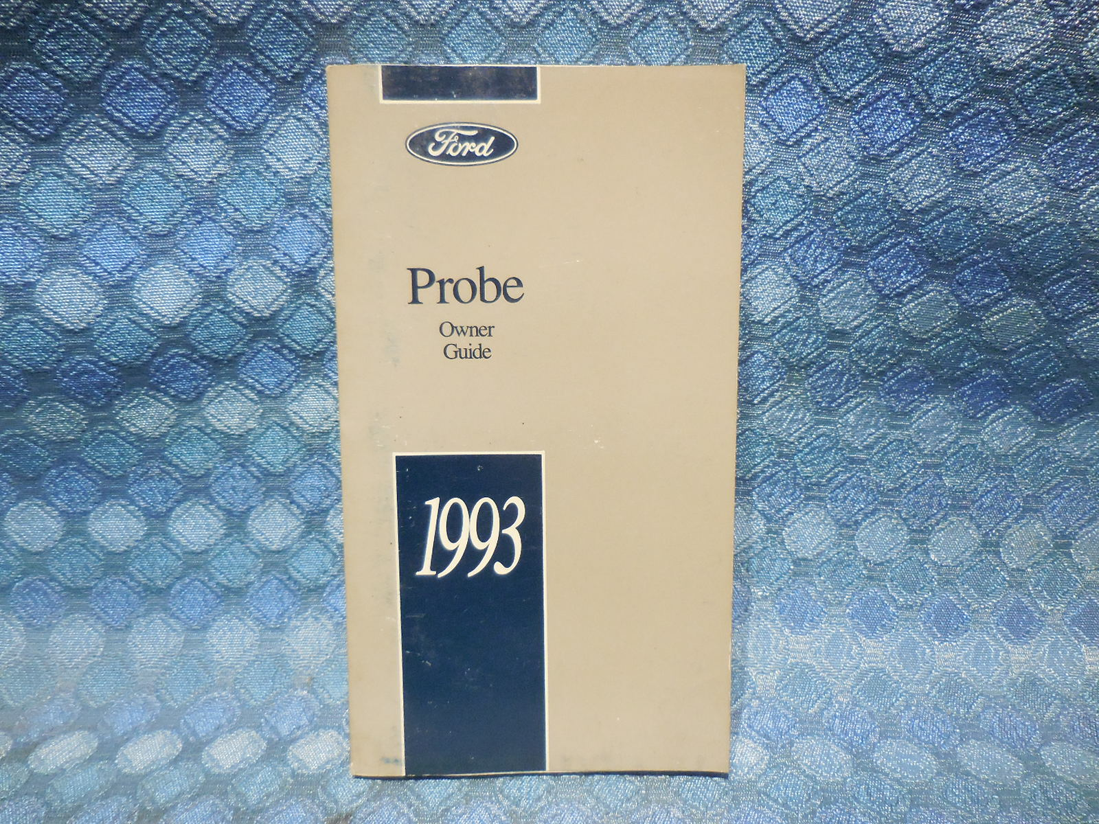 1993 Ford Probe Original Owners Manual / Guide