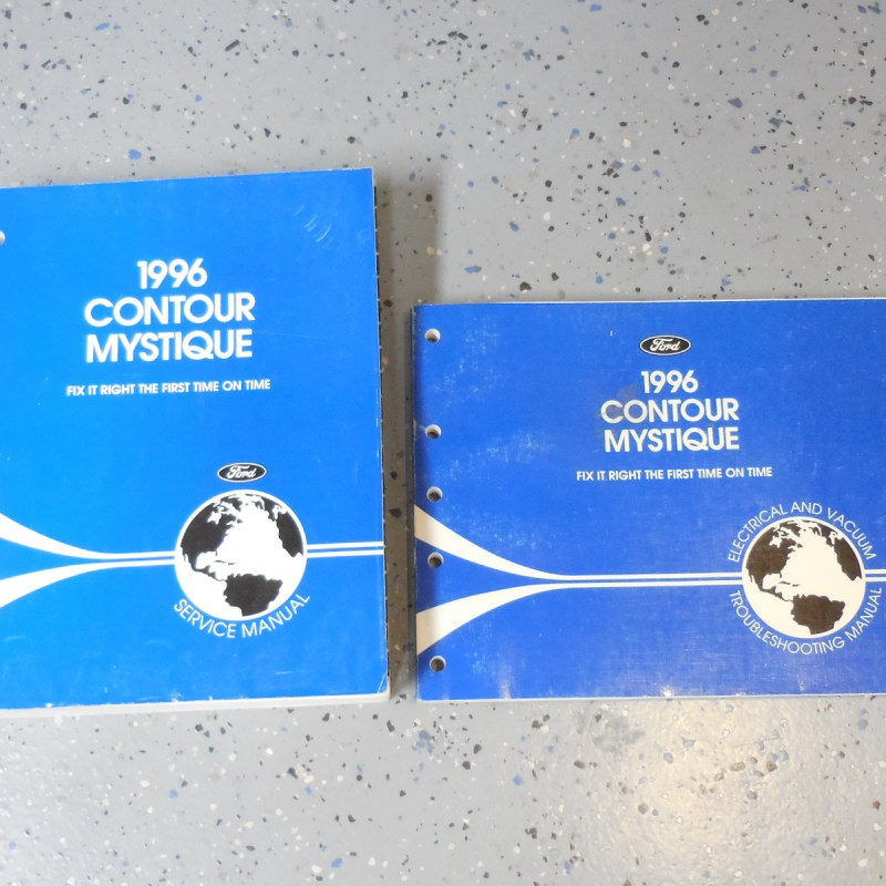 1996 Contour & Mystique Service, Electrical & Troubleshooting Manuals 2 Vol Set