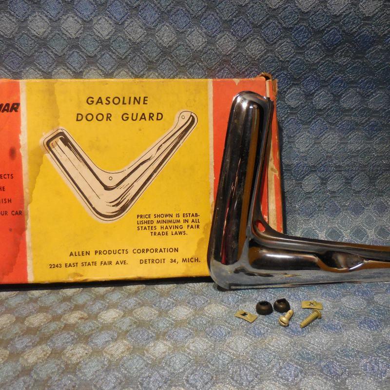 1950 Oldsmobile NORS Chrome Gasoline Door Guard / Trim