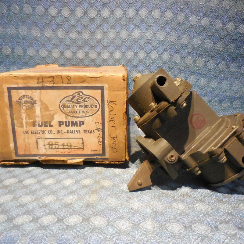 1951-1953 Kaiser 1951 Frazer NORS Fuel / Vacuum Pump # 4318