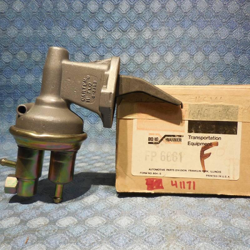 1975 Mercury Capri 2.3L NORS Fuel Pump # 41171