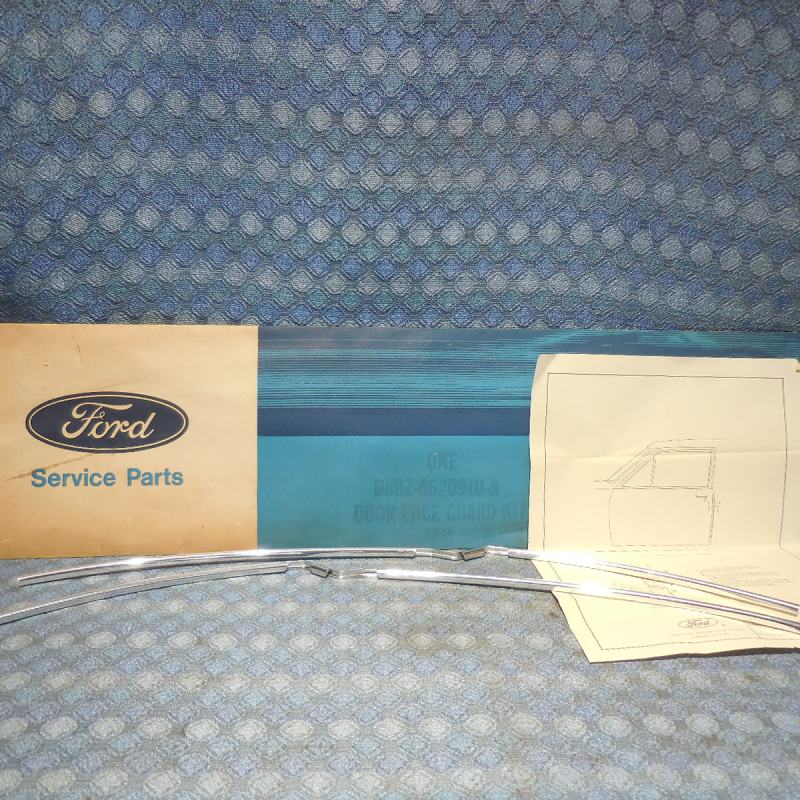 1978-1979 Ford Fairmont 2 Door NOS Door Edge Guard Kit # D8BZ-6620910-A