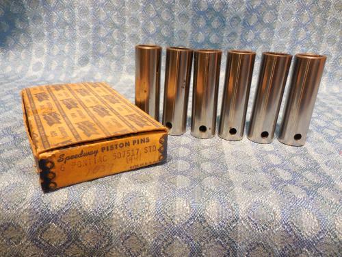 1935-1952 Pontiac 6 Cyl NORS Piston Pin Set 36 37 39 40 41 47 48 49 51 # 507517