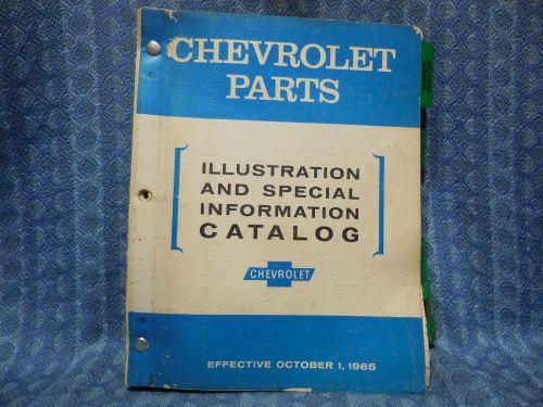 1954-1966 Chevrolet Original Illustration & Special Info Catalog 56 58 60 62 64