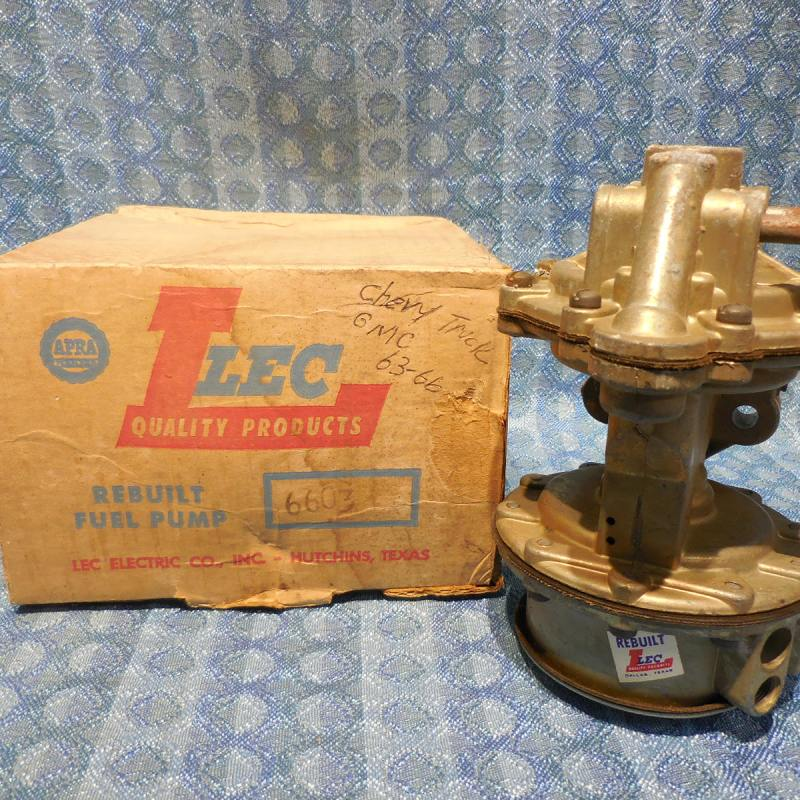 1963-70 Chevrolet GMC Truck 6 Cyl NORS Fuel Vacuum Pump 64 65 66 #6603 (SEE AD)