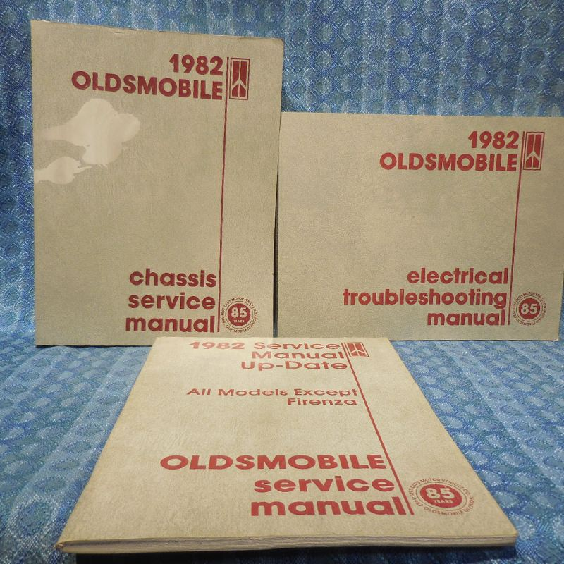 1982 Oldsmobile Chassis Service Electrical Troubleshooting + Update 3 VOLUME SET