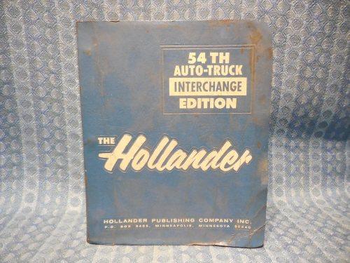 1975-1987 Original Hollander Interchange Manual GM Ford Mopar AMC 1977 79 81 83