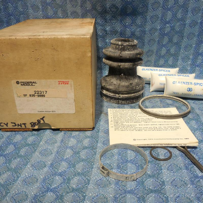 Federal-Mogul NORS Inside CV Joint Boot #22317