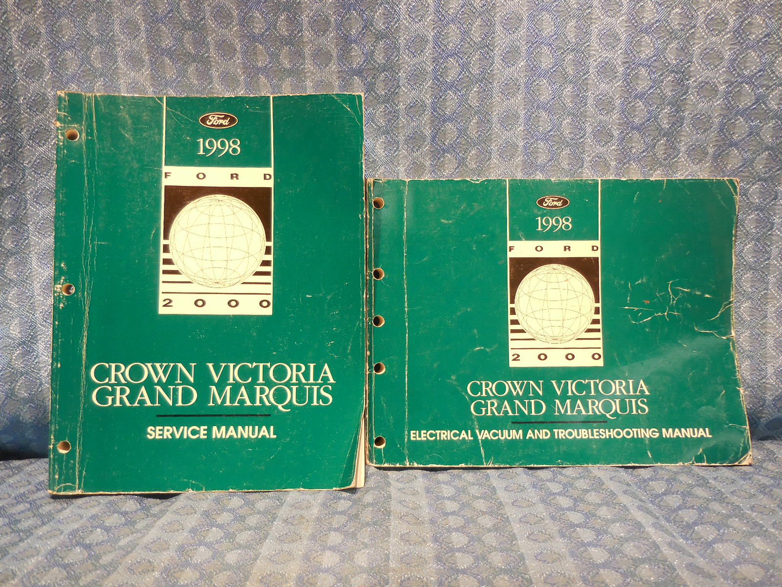 1998 Crown Victoria Grand Marquis Original OEM Shop Service Manual 2 Volume  Set