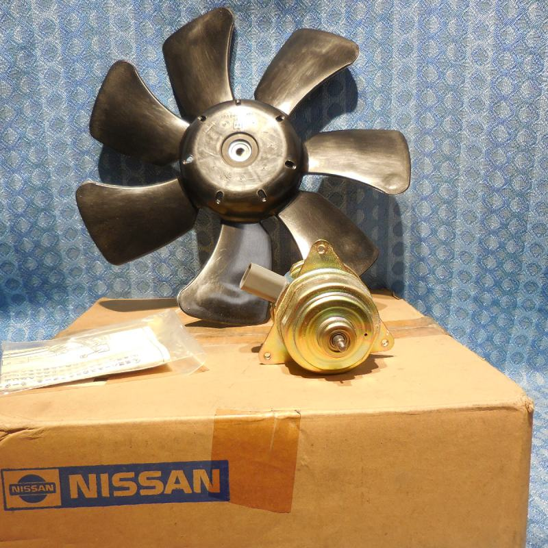 NOS Fan Blades and Motor Fits 1991-1999 Nissan & Infiniti #21482-0C025 (SEE AD)