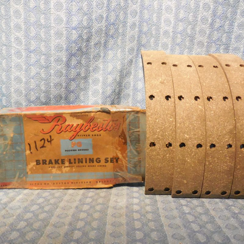 1935-1940 Dodge Truck NORS Front Brake Lining Set #PGT1124D (SEE AD) 36 37 38 39