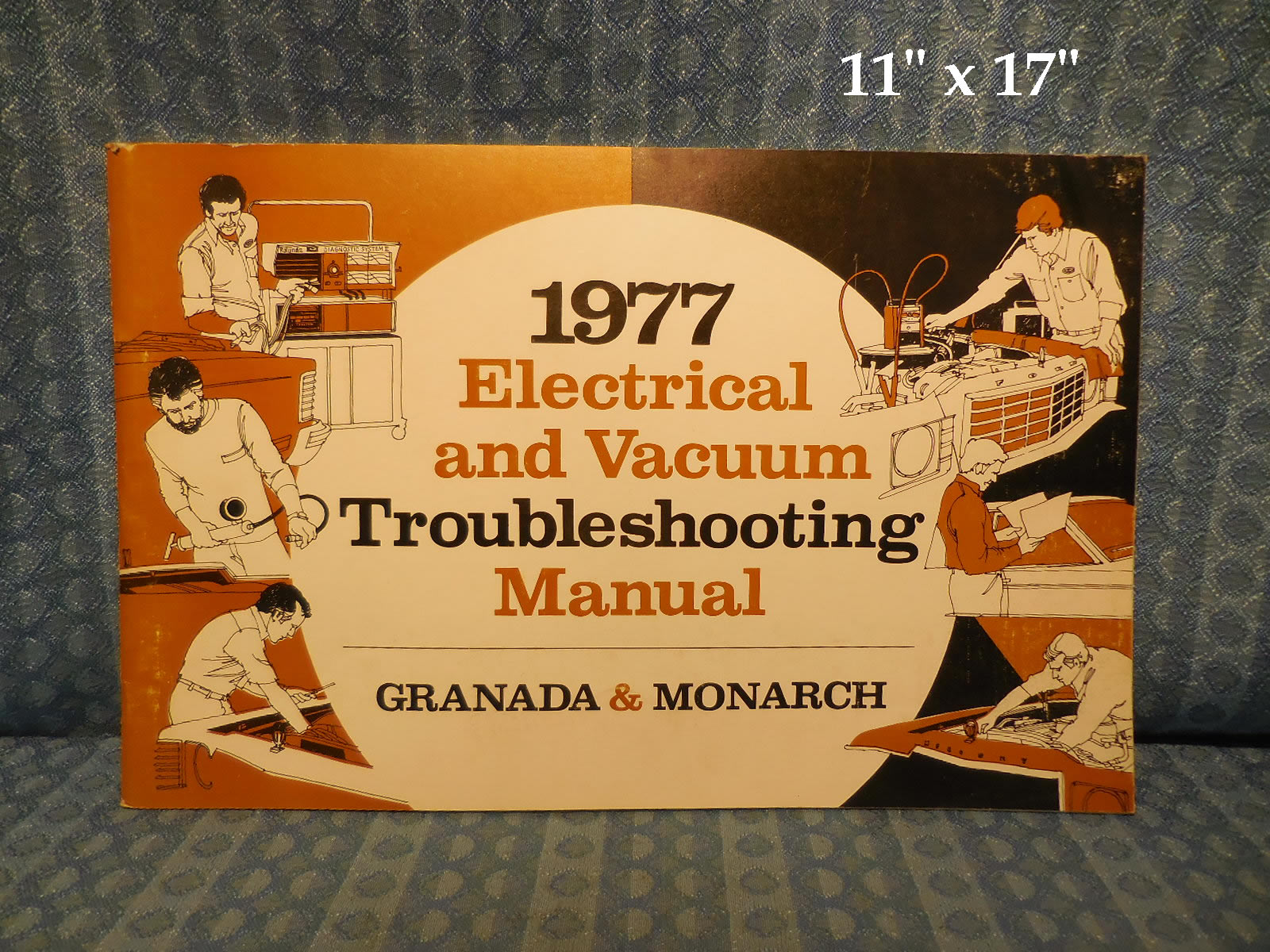 1977 Ford Granada & Mercury Monarch Electrical & Vacuum Trouble Shooting  Manual