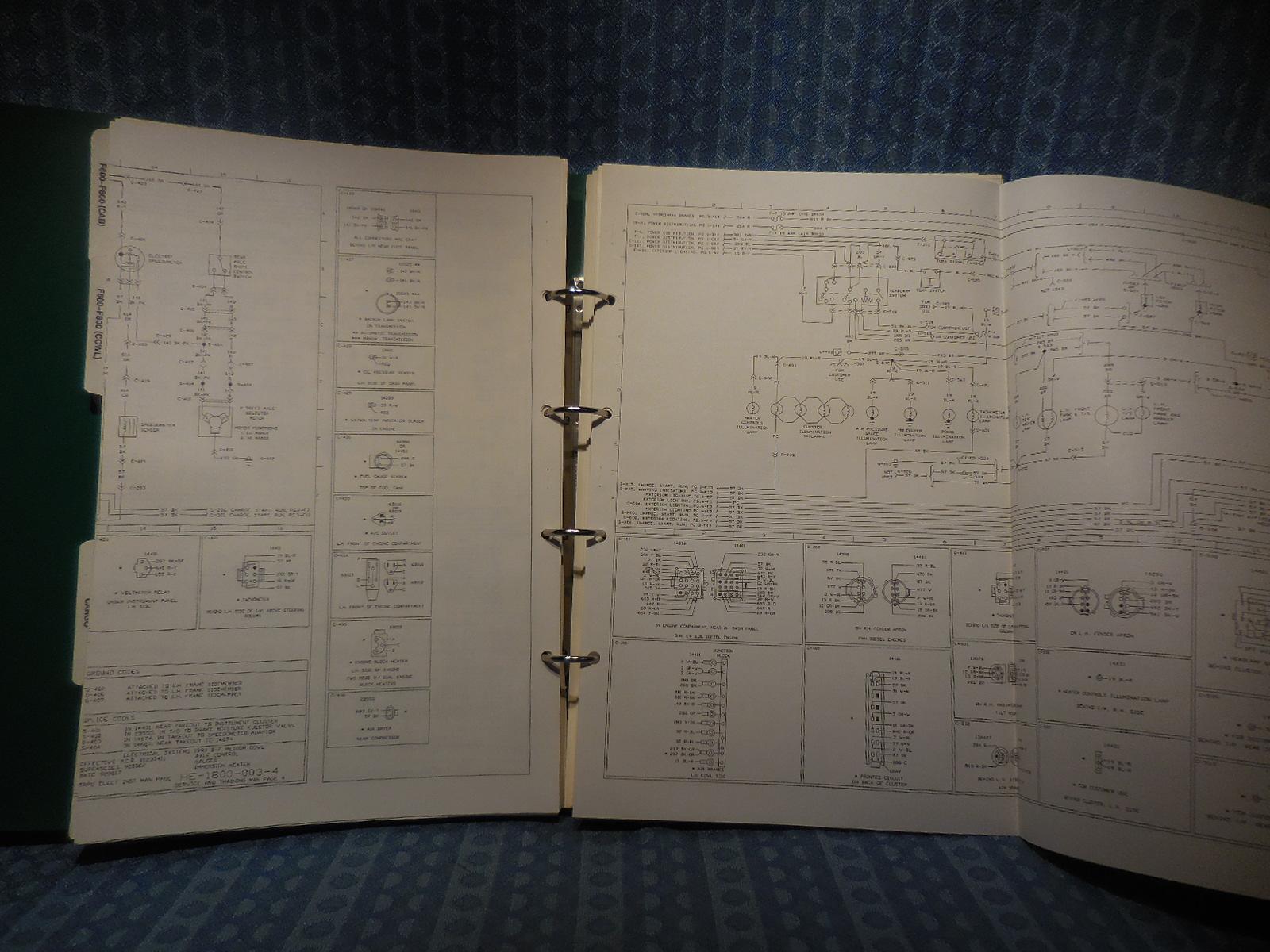 1993 Ford Truck Oem Wiring Diagrams F150 800 Ranger Econoline L Series Explorer Nos Texas Parts Llc Antique Auto Parts