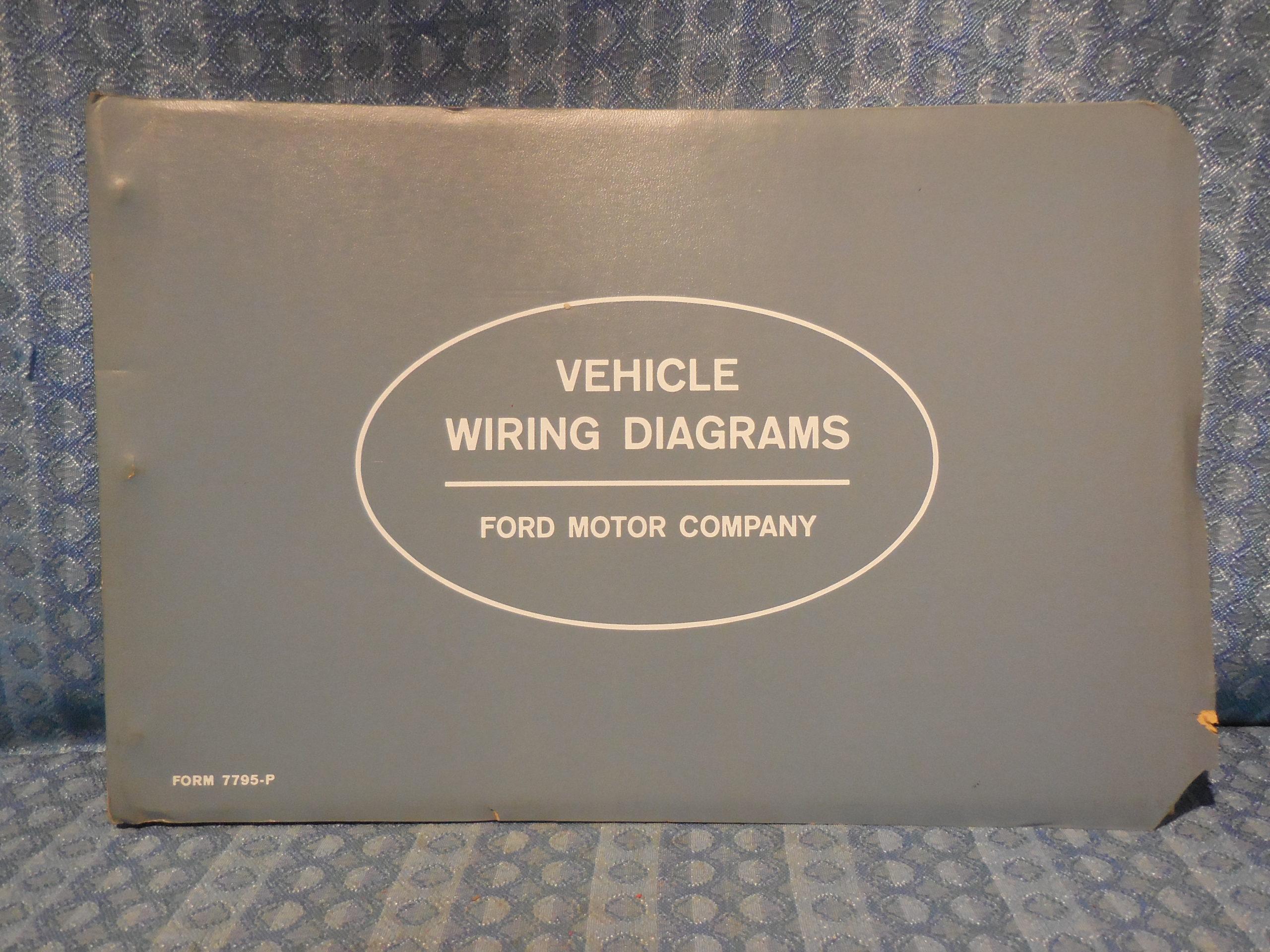 1963 Ford Lincoln Mercury Truck Original OEM Wiring Diagrams Manual  Continental – NOS Texas Parts [ 1920 x 2560 Pixel ]