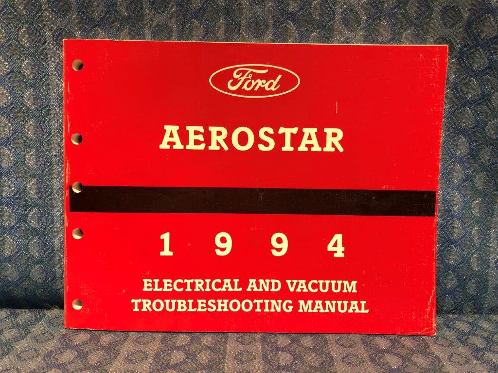 1994 Ford  Aerostar Owners Manual