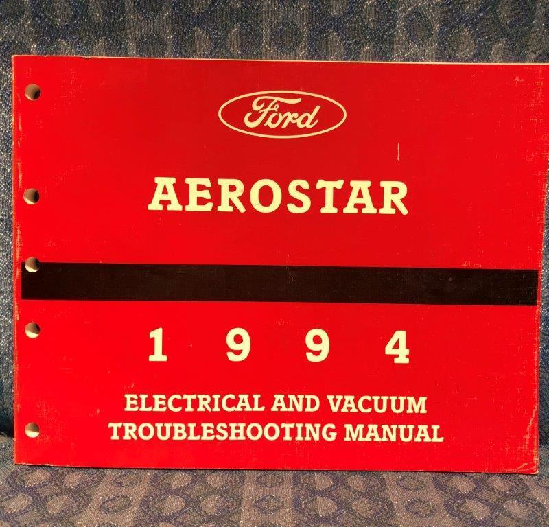 1994 Ford Aerostar OEM Electrical & Vacuum Troubleshooting Manual
