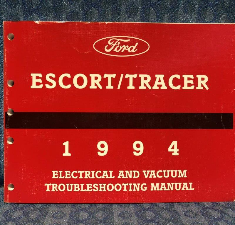 1994 Ford Escort & Mercury Tracer OEM Electrical & Vacuum Troubleshooting Manual