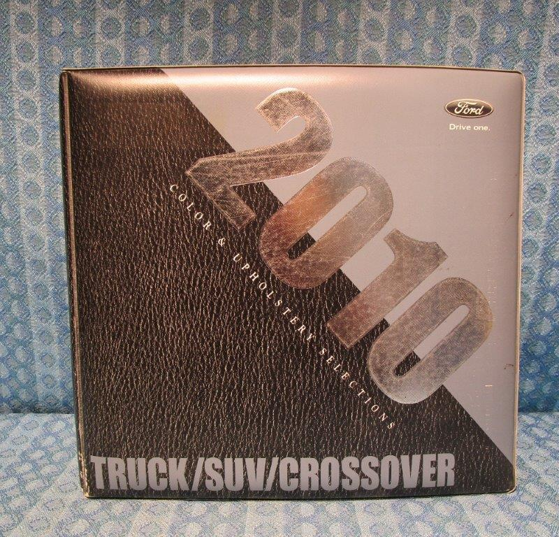 2010 Ford Truck SUV/Crossover Dealer Color & Upholstery Album F-150 to F-750