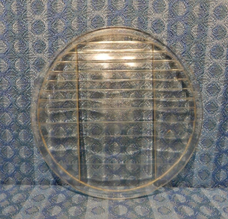 "Circa 1910-1930 Original 8-1/4"" Osgood Long Distance Headlight Lens 1924 26 28"