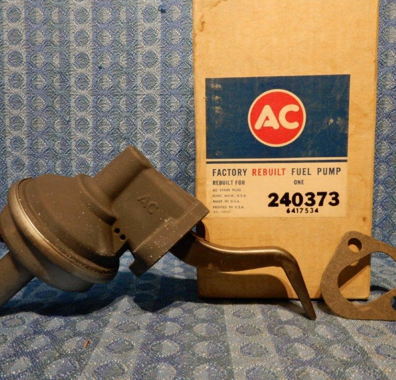 1965 Pontiac B Body w/421 V8 1966 Pontiac All V8 NORS AC Fuel Pump #40373 (SEE AD)