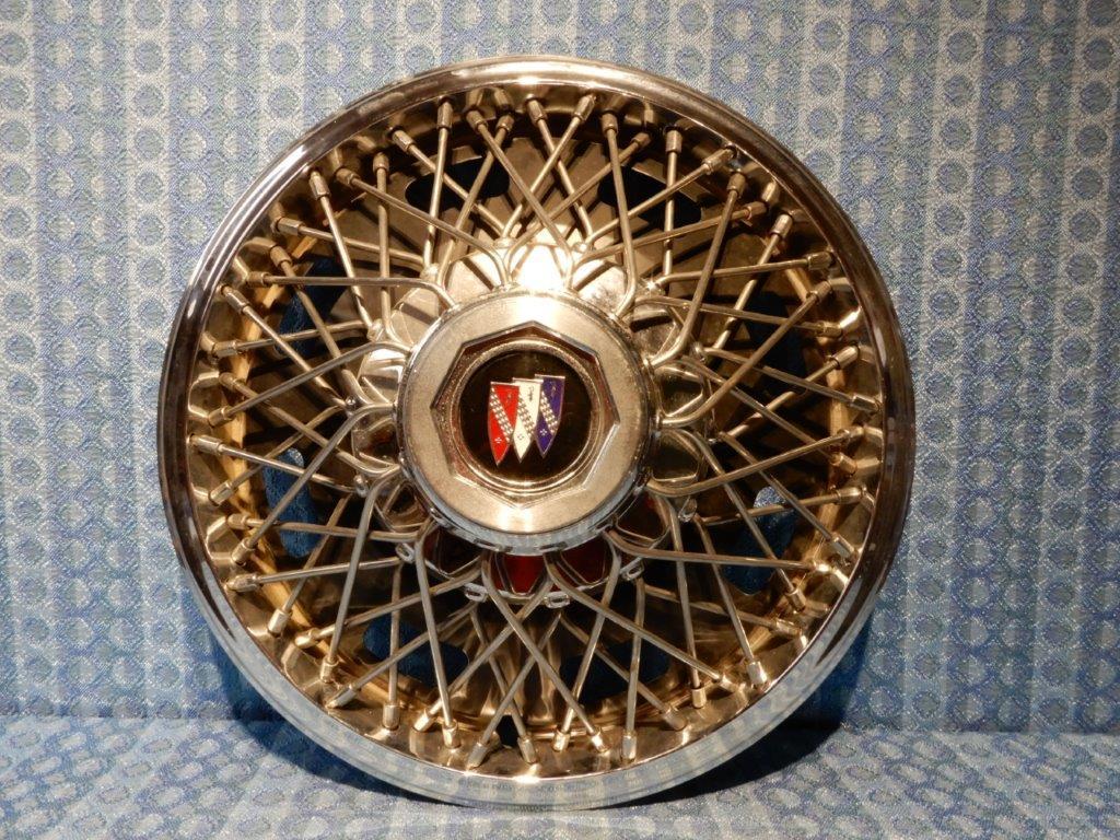 1982 1985 Buick Century Nos 14 Wire Wheel Hubcap Cover 1984 Wiring Diagram Brakelights 25511220
