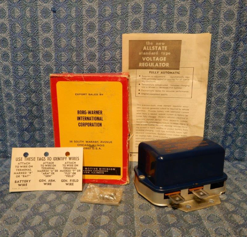 1956 Packard Hudson Nash 1956-1959 Studebaker NORS Voltage Regulator 57 58 #R157
