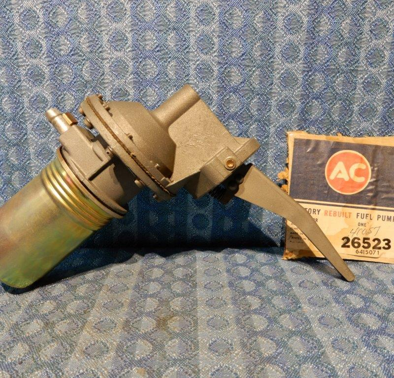 1962-1967 Ford & Mercury V8 NORS Fuel Pump 63 64 65 66 #6523 (SEE DETAILED AD)