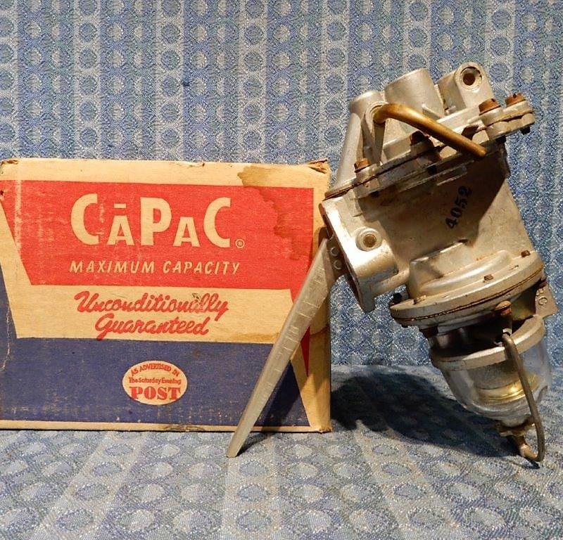 1954 Ford & Mercury Pass & Truck NORS Fuel Vacuum Pump # 4052